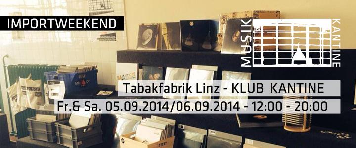 Musik Kantine Recordstore Linz – ARS Electronica Weekend